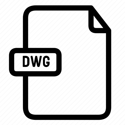 dwg, dwg file, dwg file extension icon