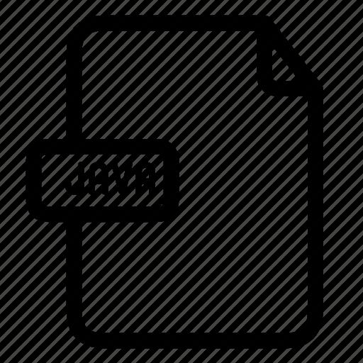 java, java extension, java file icon
