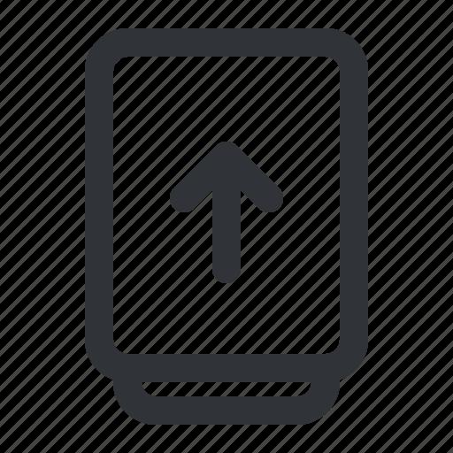 arrow, document, file, files, type, upload icon