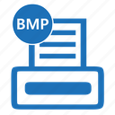 bmp, file, format, image, photo, print, printer icon