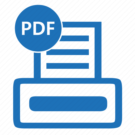 document, file, format, pdf, portable icon