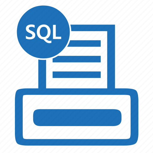 database, file, format, queryprint, sql, structured icon