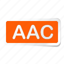 extension, file, files, format, type, types, aac