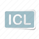 extension, file, files, format, icl, type, types icon