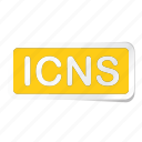 extension, file, files, format, type, types icon