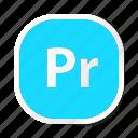 extension, file, files, format, pr, type, types icon