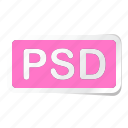 extension, file, files, format, type, types, psd