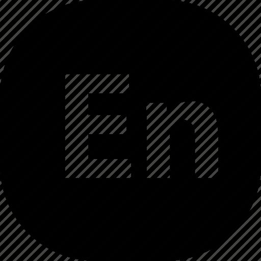 adobe, en, extension, file, folder, format, types icon