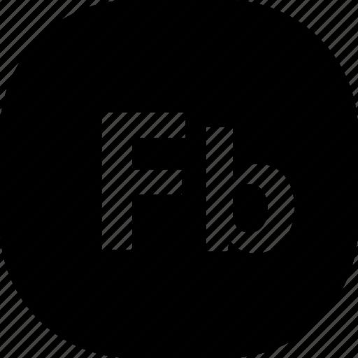 adobe, extension, fb, file, folder, format, types icon