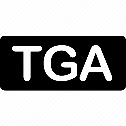 extension, file, format, image, photo, tga, types icon
