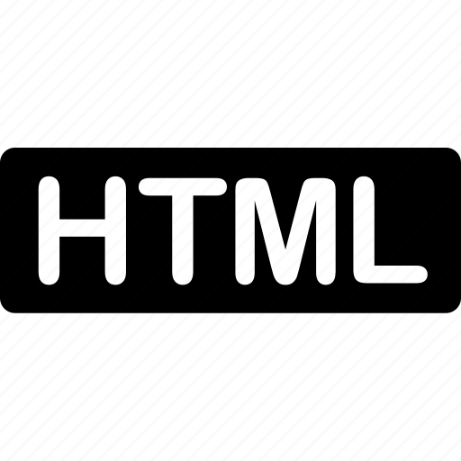 extension, file, format, html, programming, text, types icon