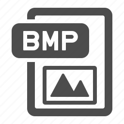 bmp, document, extension, file, format, image, photo icon