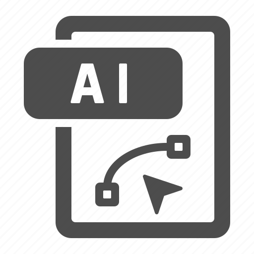 Document, extension, file, format, ai icon - Download on Iconfinder