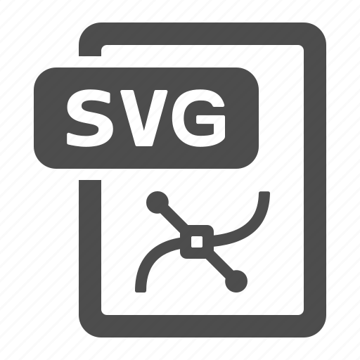 Document, extension, file, format, svg icon - Download on Iconfinder