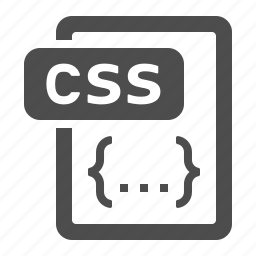 code, coding, css, document, extension, file, format icon
