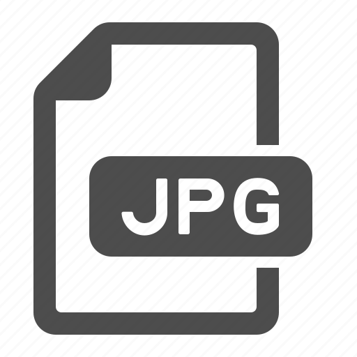 document, extension, file, format, jpeg, jpg icon