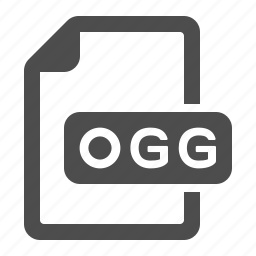 documents, files, ogg icon