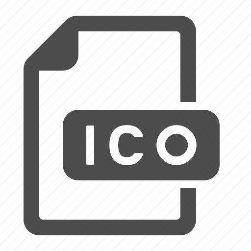 document, extension, file, format, ico icon