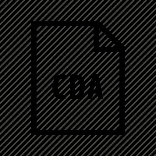 audio, cda, media, music, sound, speaker icon