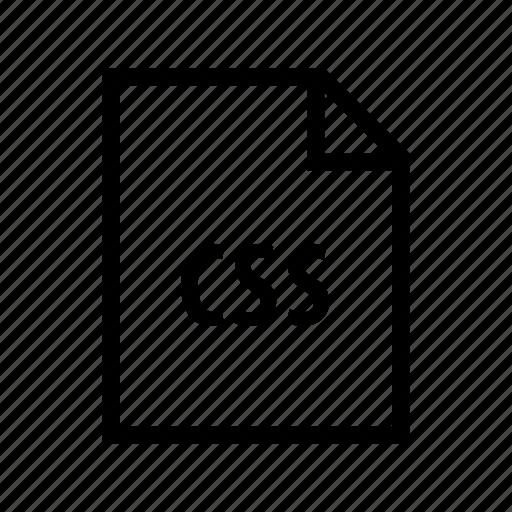 coding, css, design, development, sheet, style, web icon