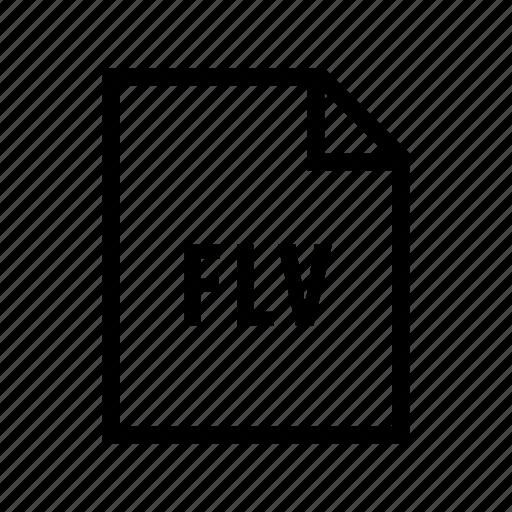 adobe, animation, design, flash, flv, illustration icon