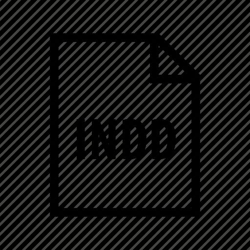 adobe, design, format, indd, indesign icon