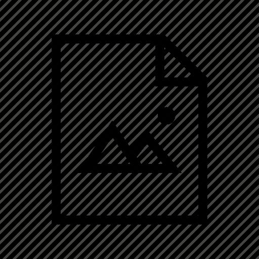 file, graphics, image, photo, picture icon