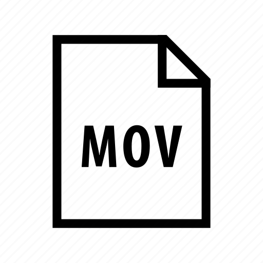 file, film, format, mov, movie, video icon