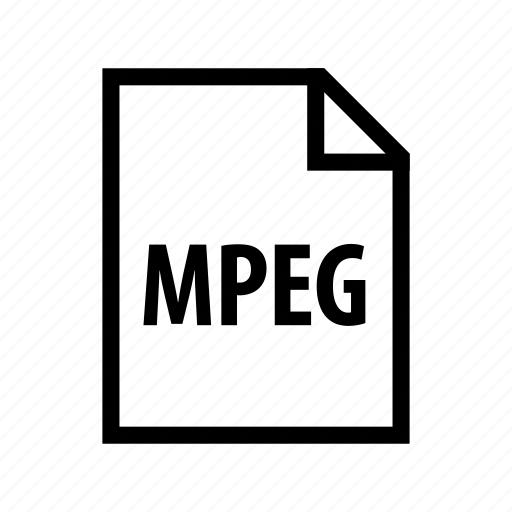 file, film, format, movie, mpeg, video icon