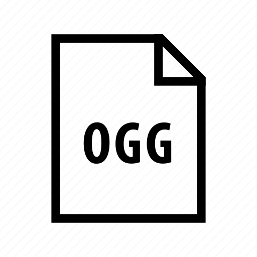 audio, music, ogg, sound icon