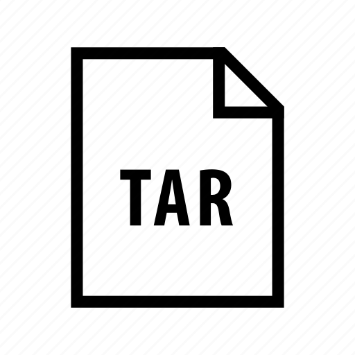 archive, compressed, documents, file, tar icon