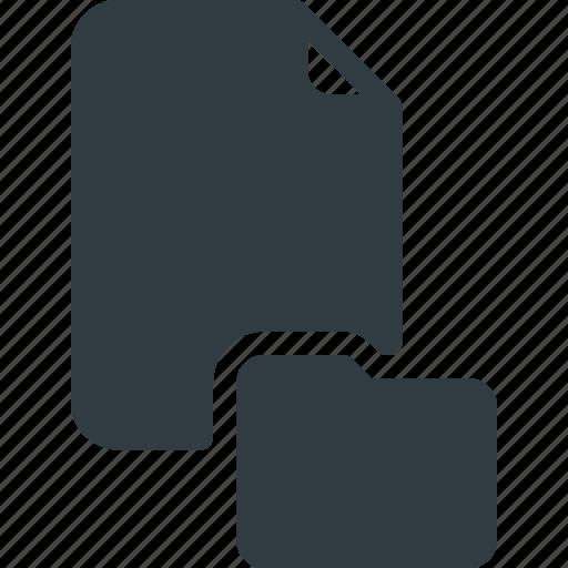 documen, file, folder, paper icon