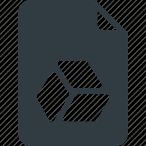 Documen, drive, file, google, paper icon - Download on Iconfinder