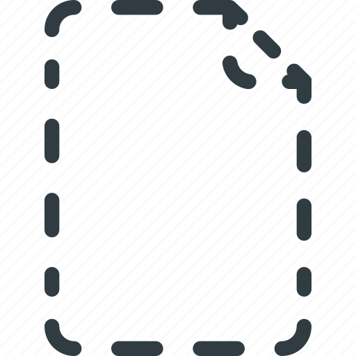 Documen, file, hidden, hide, paper icon - Download on Iconfinder