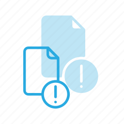 attention, documen, file, paper icon