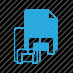 dock, documen, file, holder, paper icon