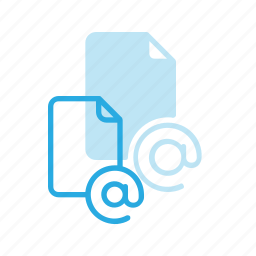 documen, email, file, mail, paper icon