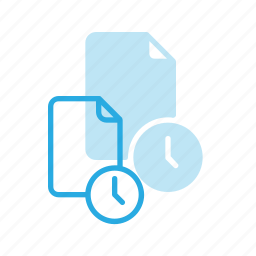 documen, file, paper, temp, temporary, time icon