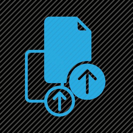 documen, file, paper, upload icon