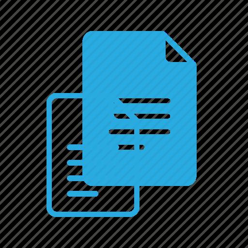 documen, file, paper, text, write icon