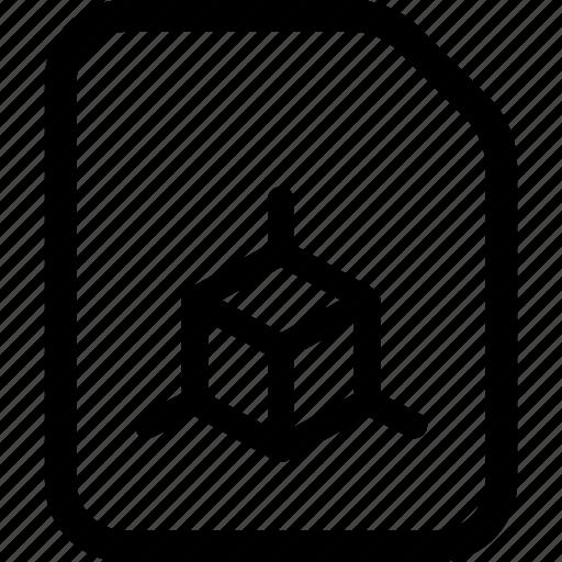 file, graphic icon