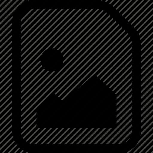 file, jpeg, jpg, picture, raster icon