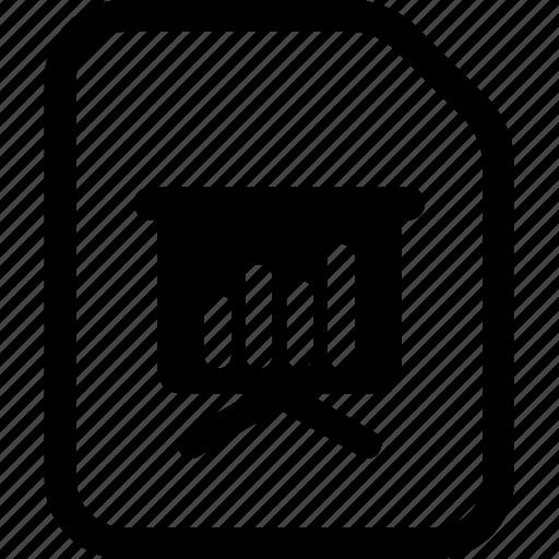 file, keynote, ppt, presentation icon