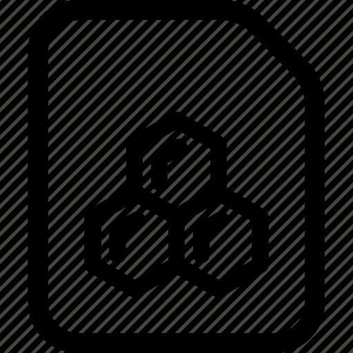 data, file, scientific icon