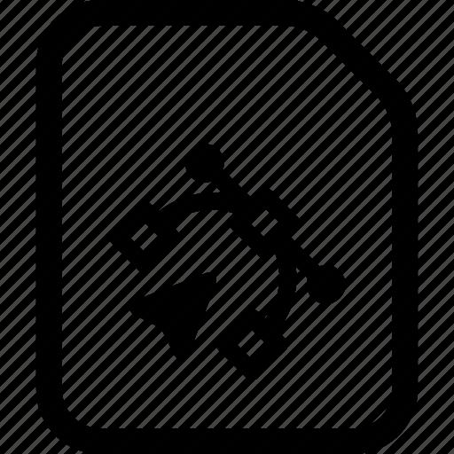 file, graphic, vector graphic icon