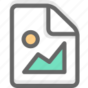 document, file, image, office, page, paper, picture icon