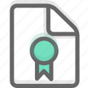 agreement, document, file, license, office, page, paper icon