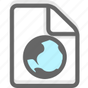document, file, office, page, paper icon
