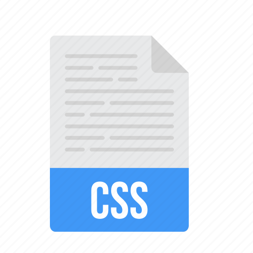 css, document, file, format icon