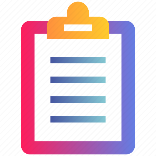 Clipboard, document, file, report icon - Download on Iconfinder